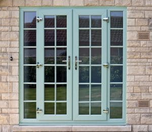 Chartwell green french doors
