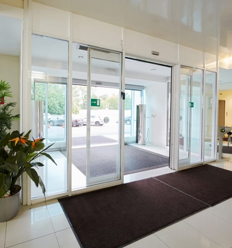 Telescope automatic doors