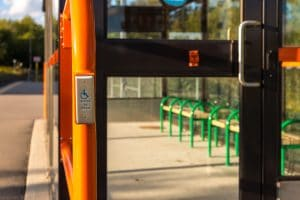 Accessibility push to open doors