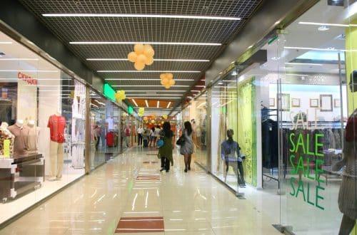 Retail sliding doors