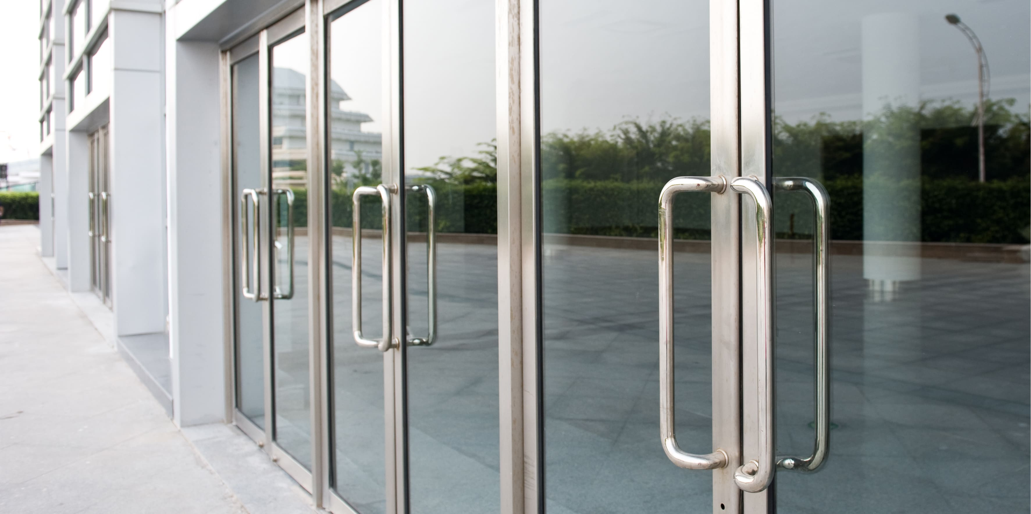 Door Companys Fixing Aluminium Sliding Doors