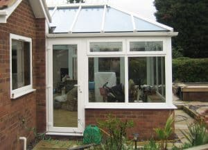 Conservatory modern and traditional