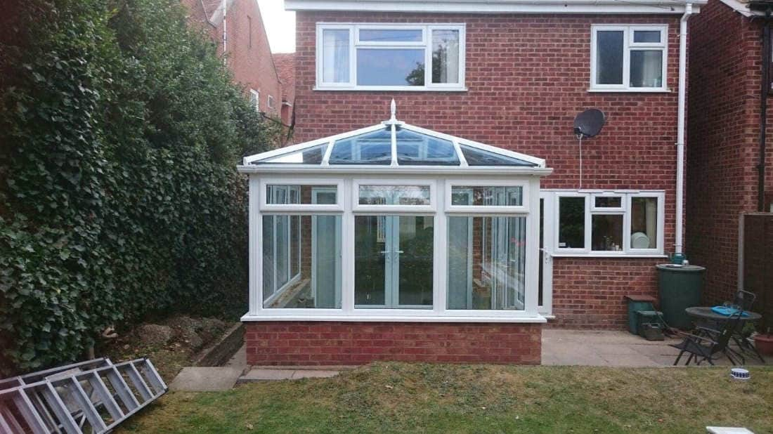 Edwardian Conservatory Completed
