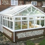 White gable conservatory