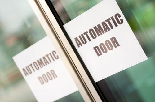 Installation of automatic doors