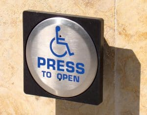 Assisted & disabled door entry