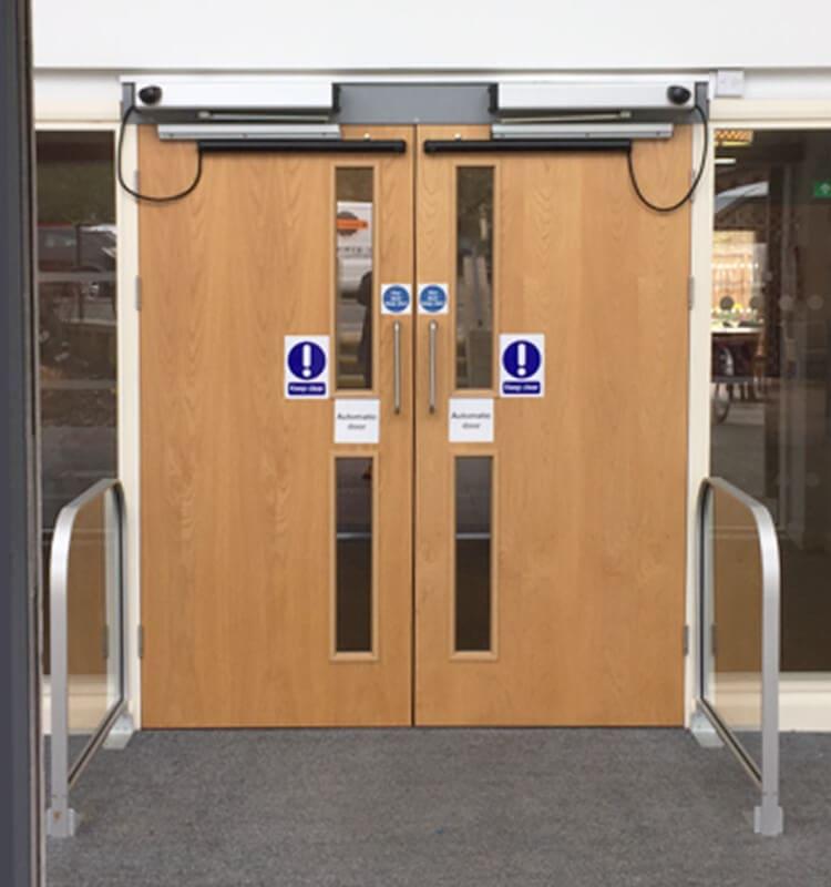 Balance doors