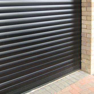 Garage aluminium roller shutter