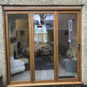 domestic wooden bi fold doors