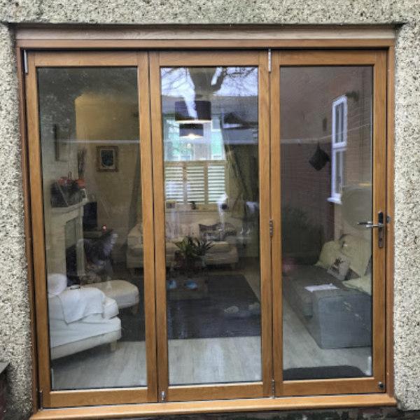 domestic wooden bi fold doors