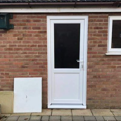 Replacment Garage UPVC Door